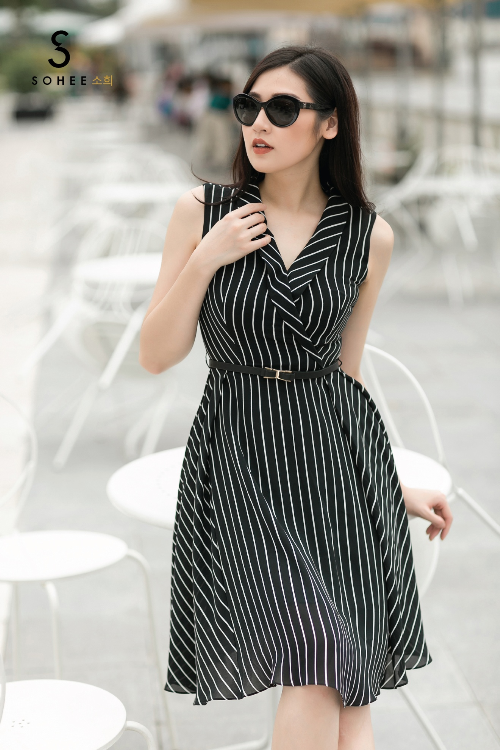 Tú Anh xuống phố với các trang phục của Sohee - 4