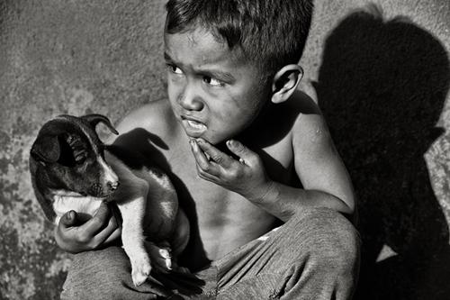 Em bé chụp tại Bình Phước.
