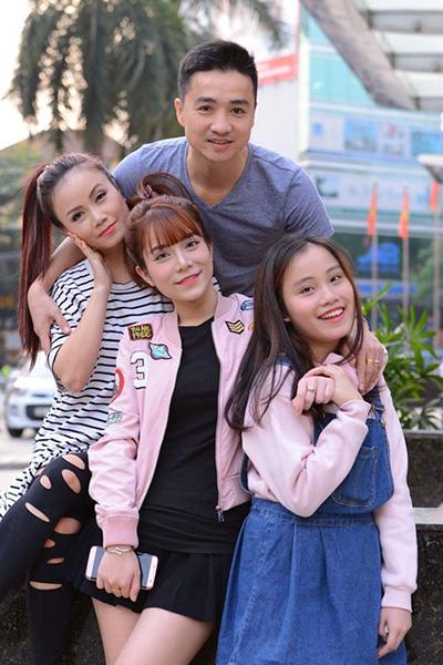Gia đình diễn viên Hoàng Yến và doanh nhân Thắng Cao.