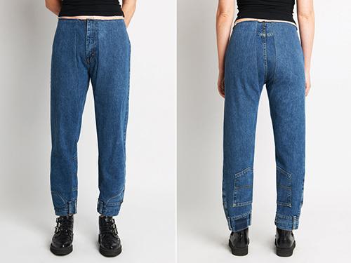 Mẫu quần dài Lucas của Cie Denim.