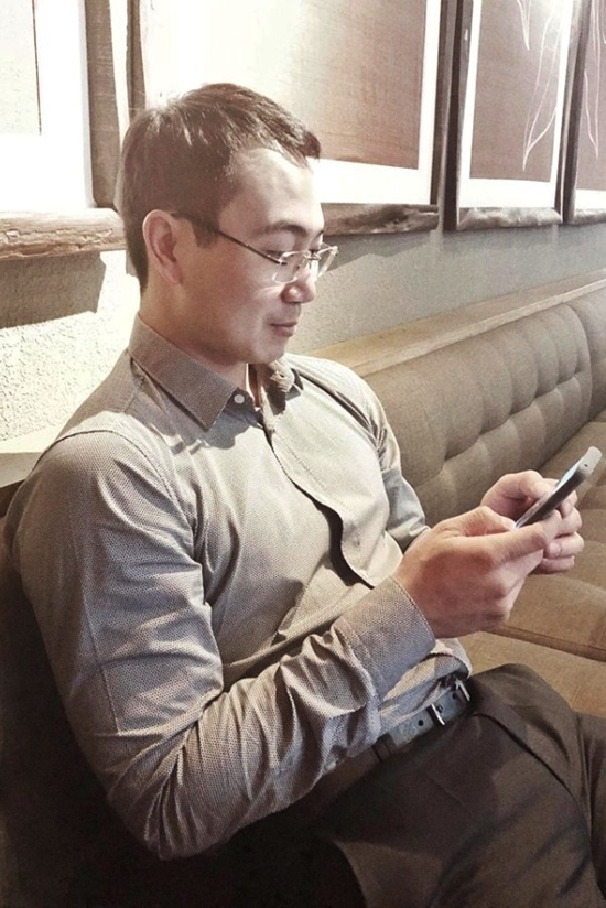 Chong sap cuoi theo Lan Khue di su kien