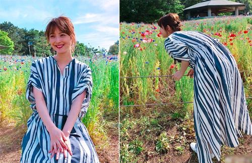 Trang phục giấu bụng bầu của Mỹ nhân đẹp nhất Nhật Bản - ảnh 12