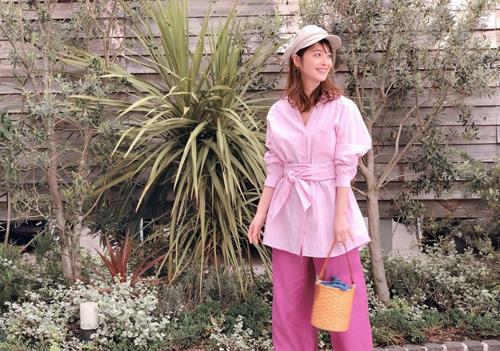 Trang phục giấu bụng bầu của Mỹ nhân đẹp nhất Nhật Bản - ảnh 6