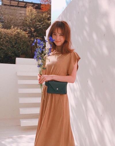 Trang phục giấu bụng bầu của Mỹ nhân đẹp nhất Nhật Bản - ảnh 1