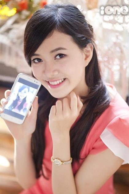 Ha Thanh Van - co gai dan toc Tay thi Hoa hau Viet Nam
