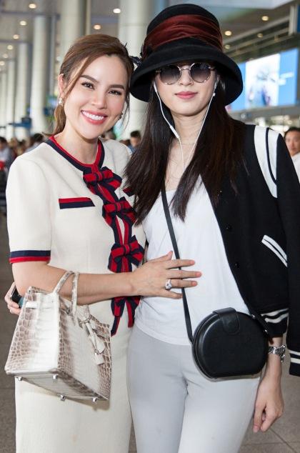 Hoa hau chuyen gioi dep nhat Thai Lan den TP HCM