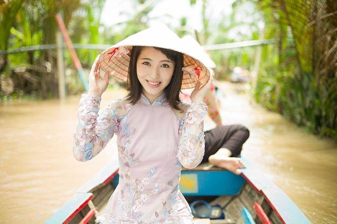 My nhan Nhat Ban den Viet Nam ky niem tuoi 18