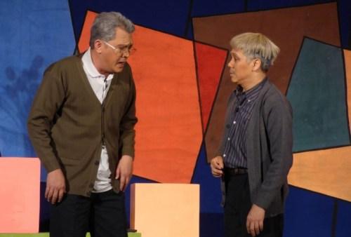 Thành Lộc và Hữu Châu tung hứng trong phiên bản mới của Dạ cổ hoài lang.