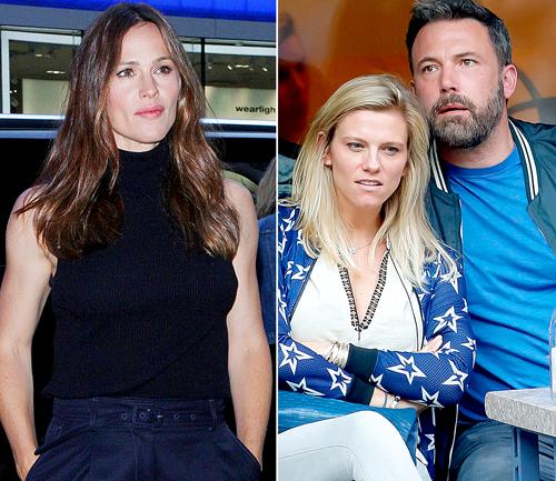 Jennifer Garner khong muón con tiép xúc vói bạn gái của chòng cu