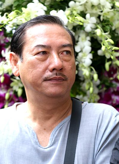 Nghệ sĩ Thành Hội của sân khấu Hoàng Thái Thanh.