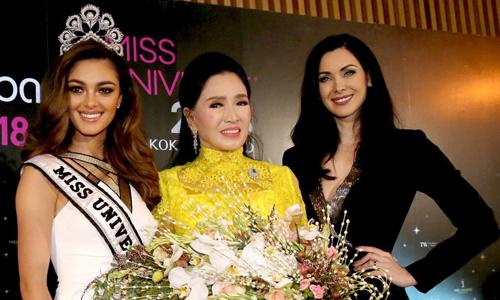 Hoa hạu Hoàn vũ 2018 tỏ chúc tại Thái Lan