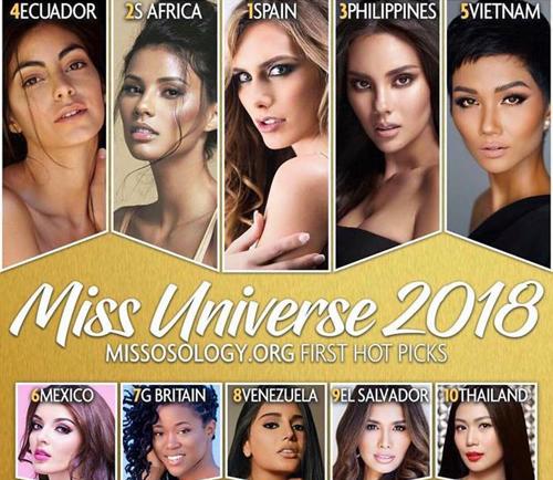 HHen Nie duoc du doan vao Top 10 Hoa hau Hoan vu 2018