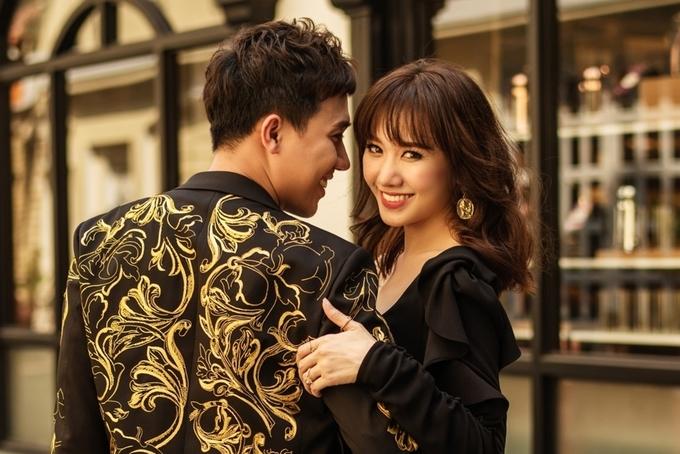 Hari Won tung mac cam vi chua sinh con cho Tran Thanh