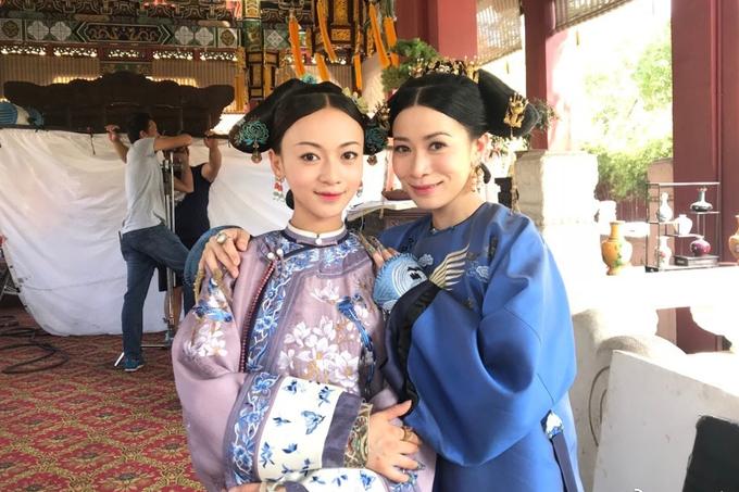 My nhan 9x Trung Quoc gay sot voi vai no ti