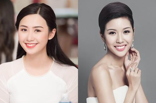 Cac thi sinh Hoa hau Viet Nam giong my nhan showbiz Viet