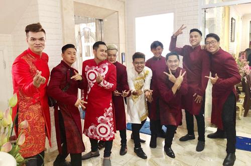 NSND Hong Van to chuc le cuoi cho con gai trong nuoc