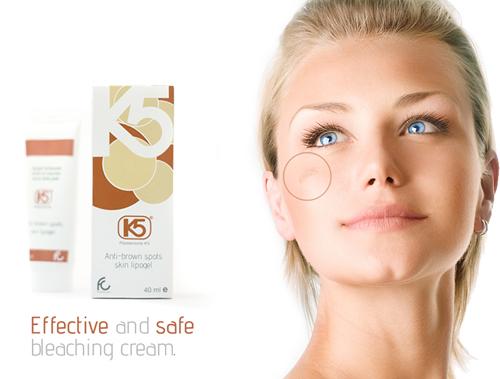 Hoạt chất Pidobenzone được ứng dụng để trị nám trong mỹ phẩm K5 Lipogel.