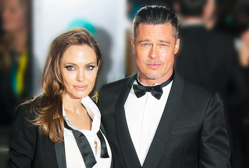 Brad Pitt và Angelina Jolie ly hôn ồn ào suốt gần hai năm. Ảnh: Startraksphoto.