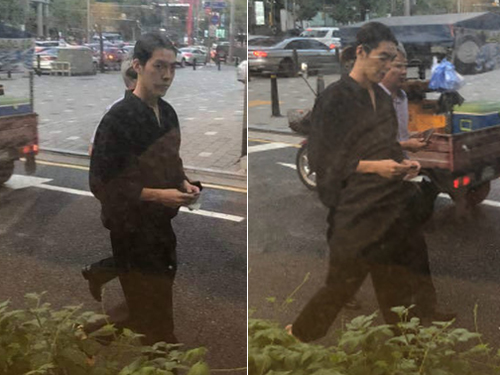 Hình ảnh Kim Woo Bin sau hơn một năm chữa ung thư vòm họng.