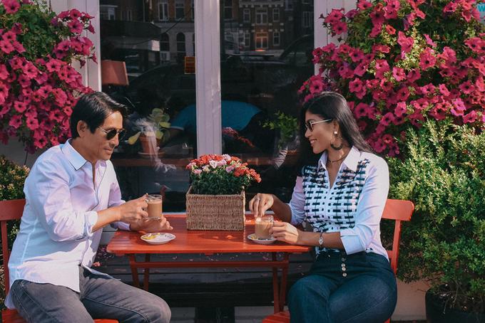Vo chong Trang La rong ruoi cac nuoc chau Au bang xe hoi
