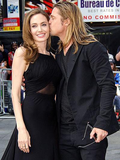Angelina Jolie - Brad Pitt yeu bát cháp chia ly on ao