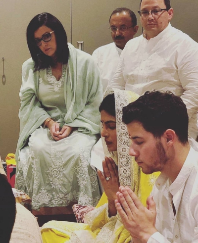 Le dinh hon theo nghi thuc An Do cua Nick Jonas va hoa hau
