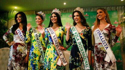 Tòa án yeu càu hoãn tỏ chúc cuọc thi Miss Venezuela 2018
