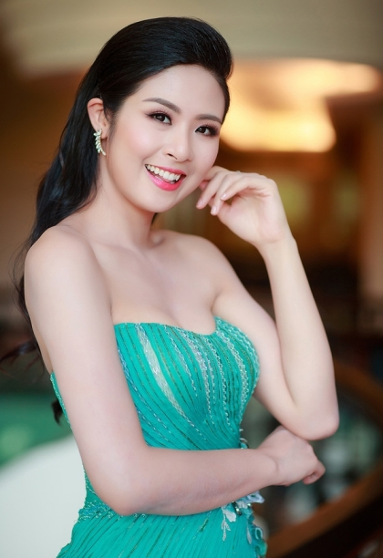 Ngoc Han Chung Thanh Phong cham thi Miss Supranational Vietnam