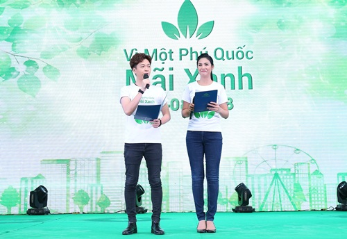 Sao Viet lan toa thong diep bao ve moi truong tai Phu Quoc