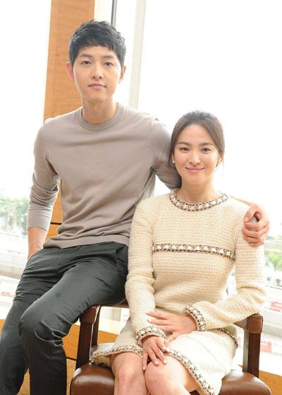 Song Joong Ki luon yeu Song Hye Kyo say dam
