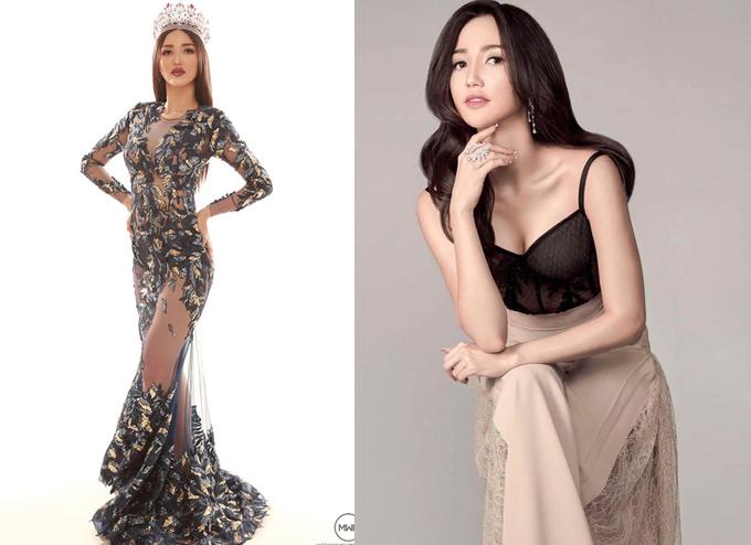 Doi thu chau A cua HHen Nie tai Miss Universe 2018