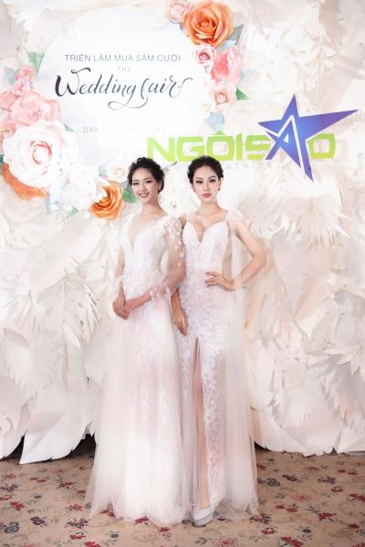 lan khuê diện váy cưới làm vedette - 9