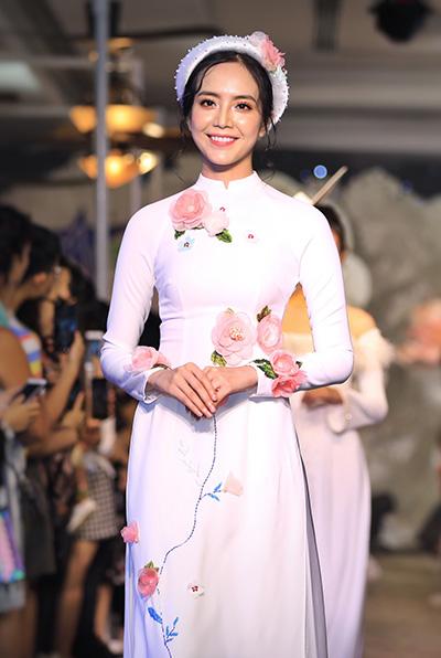áo dài cưới cách tân của minh châu - 3