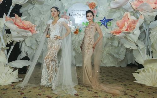 phan quốc an ra mắt váy cưới ren xuyên thấu - 3