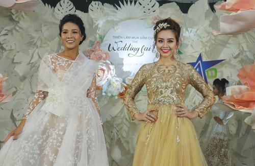 phan quốc an ra mắt váy cưới ren xuyên thấu - 1