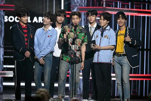 Bảy chàng trai BTS.