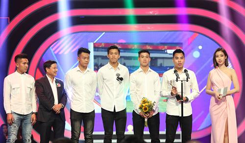 U23 Viet Nam duoc vinh danh Nhan vat cua nam tai giai truyen hinh