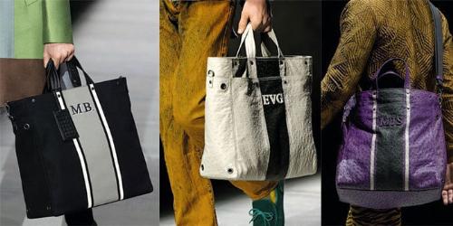 Bottega Veneta tiếp tục theo đuổi triết lý khi chữ viết tắt tên bạn là đủ trong các thiết kế túi mùa thu đông với chữ cái tên viết tắt của chủ nhân hay những hình trang trí làm bằng da.
