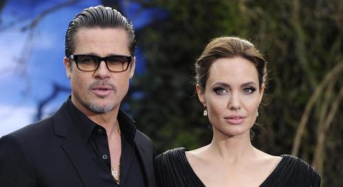 Angelina Jolie va Brad Pitt bi mat gap nhau