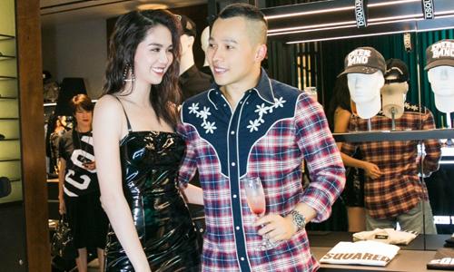 Ngọc Trinh sánh vai cùng Vũ Khắc Tiệp dự sự kiện thời trang - Giải Trí