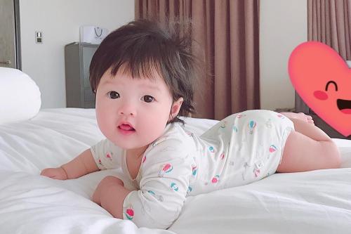 Thu Thảo đặt tên thân mật cho con ở nhà là Sophie.