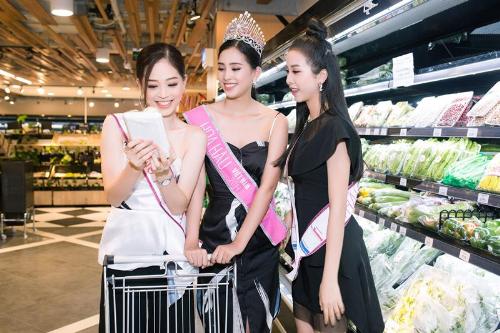Top 3 Hoa hau Viet Nam luu luyen ngoi nha chung gan bo suot hai tuan