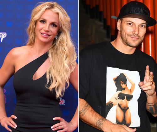 Britney Spears phai tang gàn gáp doi trọ cáp nuoi con cho chòng cũ