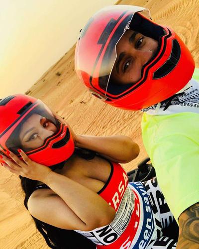 Nicki Minaj hẹn hò tay dua Lewis Hamilton