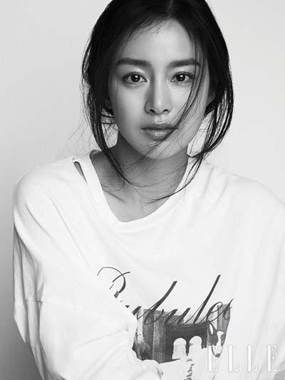 Kim Tae Hee ao phong toc roi len tap chi