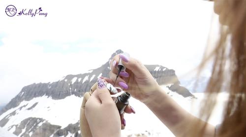 cô gái việt vẽ địa danh nổi tiếng thế giới trên móng tay