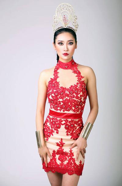 Cac dói thủ chau Á của Phuong Nga tại Miss Grand International