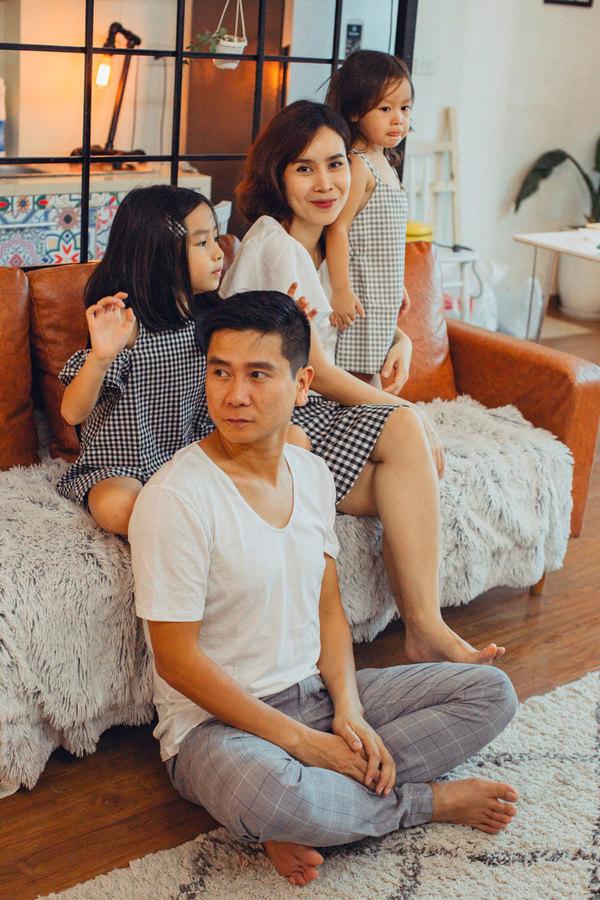Luu Huong Giang Ho Hoai Anh choi dua cung hai con gai
