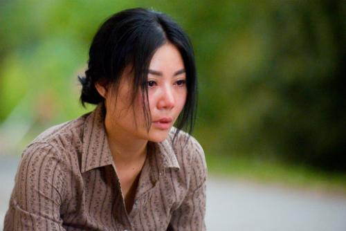 Tạo hình của Thanh Hương trong phim.