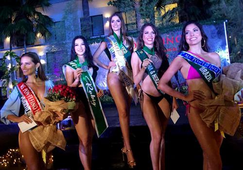 Phuong Khanh gianh huy chuong bac phan thi bikini o Miss Earth